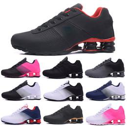 Argentina Nike Air Shox shoes Deliver 809 Zapatillas de running para hombres, mujeres, todo blanco negro azul rosa, para hombre ENTREGAR OZ NZ Zapatillas deportivas Zapatillas deportivas supplier shox running shoe Suministro