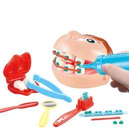 2019 bâtiments électriques Drôle 3D couleur argile moule jouets kit de modélisation de la pâte à modeler pour enfants dentiste docteur rôle jouant jouets éducatifs