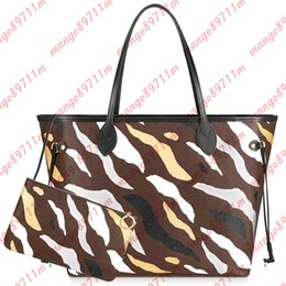 floral print designer bags Promo Codes - Designer Luxury Handbags Purses Leopard Print High Quality Shopping Bags Leather Women Bags Sacs Femme Sac à Main Shoulder Bag