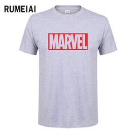 Новая Мода Marvel Футболка С Коротким Рукавом Мужчины Футболка с супергероем печати O-образным вырезом комиксов Marvel рубашки топы мужская одежда Футболка SN6 от