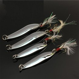 приманки для троллинга Скидка 1 шт высокого качества 6 Размеры 5g 7g 10g 13g 18g 21g Sequined Silver Spoon Приманка для рыбалки Baits море приманок Инструмент воблеры Spinner