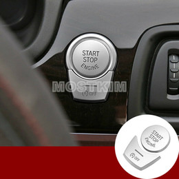 series engines Promo Codes - Inner Console Engine Start Stop Button Cover For BMW 7 Series F01 F02 2009-2015