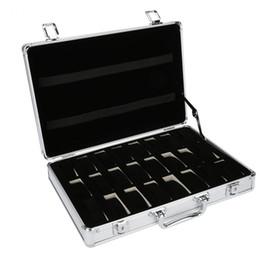 24 Grid Aluminium Koffer Fall Display Aufbewahrungsbox Uhr Aufbewahrungsbox Fall Uhr Halterung Uhr von Fabrikanten