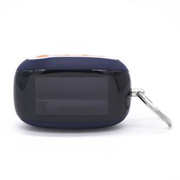 Automobile a catena chiave a distanza online-Nuova custodia B92 per Starline B92 B94 B64 B64 Telecomando LCD 2 vie Key Fob Chain starline car