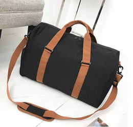 56cf36b92282 High Quality Canvas Travel Bags Women Men Large Capacity Folding Duffle Bag  Organizer Packing Cubes Luggage Girl Weekend Bag