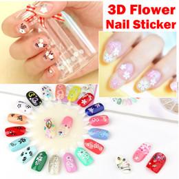 50 Yaprak / çanta 3D Çiçek Nail Art Sticker Renkli Beyaz Siyah Çiçekler Kelebek Manikür Çiviler Sanat Etiketler Dekorasyon Çıkartmaları nereden