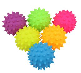 interactive puppy toys Coupons - Rubber Ball Pet Dog Sound Chew Toy Puppy Teddy Bite Resistant Training Toys Funny Squeaky Ball