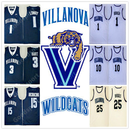 7590741d6128 2018 Villanova Wildcats NCAA 1 Jalen Brunson 2 Kris Jenkins 10 Donte  DiVincenzo 25 Mikal Bridges 3 Har jerseys Arcidiacono 15 Jersey Kyle 1