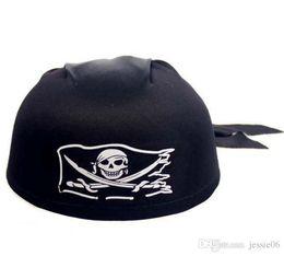 hot Halloween Pirate Hat Ghost Festival Skull Pirate Captain Shirt Head Cap
