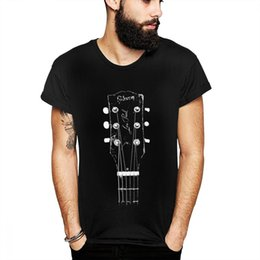 2019 classica di chitarra Vecchia maglietta rock and roll classica chitarra homme maglietta uomo geek plus size tee stampa 3d casual classica di chitarra economici