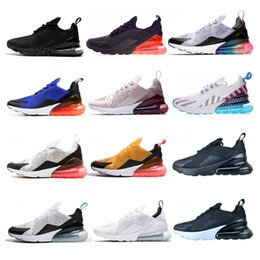 red hot photos Coupons - 270 Parra Hot Punch Photo Blue Mens Women Running Shoes Triple White University Red Olive Volt Habanero 27C Flair 270s Sneakers With Box