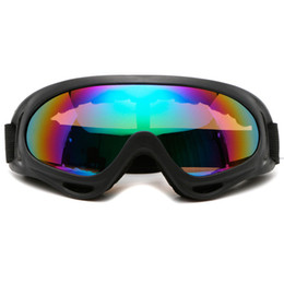 clear ski goggles Coupons - Winter snowman men and women ski mirror sports snowboard goggles double lens anti-fog ski glasses off-road motorcycle mask glasses with box