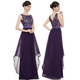 Deutschland 2019 elegante lange chiffon abendkleider frauen damen abendkleid formale abendgesellschaft ballkleid prom dress Versorgung