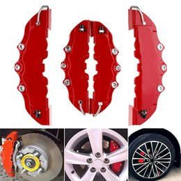 HIGH QUALITY BIG /& MEDIUM WHITE CAR BRAKE CALIPER COVERS F//R 4 PCS