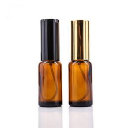 Роскошный алюминиевый аэрозольный распылитель 30 мл 50 мл 100 мл янтарного масла для волос с распылителем с золотой / черной крышкой, косметическая сыворотка стеклянная бутылка от Поставщики бутылочки для косметической сыворотки