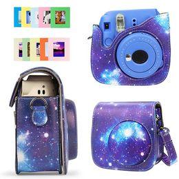 Bolsa para cámara polaroid online-Paquete de cámara Polaroid de MINI Star Prints Paquete de cámara Paquete de fotos de portada digital para Fuji Polaroid MINI 8/9