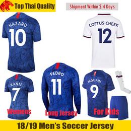 f69522c6f67 Discount liverpool jersey - 19 20 HAZARD Soccer Jersey 2019 2020 JORGINHO  HIGUAIN Football Shirt GIROUD
