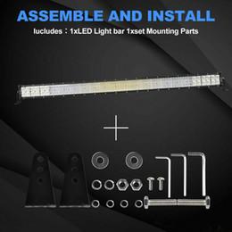 Auto geführtes arbeitslicht bar online-10D 52inch Auto-LED Light Bar 6272W Flutpunkt Combo Arbeit Driving PK 50