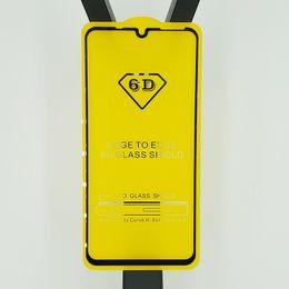 huawei mate displayschutzfolie Rabatt Full Cover 6D 9D Hartglas Displayschutzfolie AB Kleber Kante an Kante für Huawei Honor 10 Lite 2019 Mate 20 Lite P30 P30 Lite Honor V20 100P