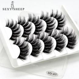 SEXYSHEEP 5Pairs 3D Nerzhaar Falsche Wimpern Natürliche / Dicke Lange Wimpern Wispy Makeup Beauty Extension Tools von Fabrikanten