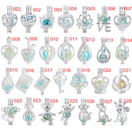 Abrindo lockets on-line-700 projetos para você escolher-prata rainbow cor medalhão pérola gaiola óleo essencial difusor medalhão pingentes abertos presentes divertidos