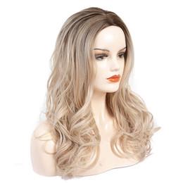 peruca do cabelo humano da parte média do yaki Desconto A peruca transfronteiriça fonte dedicada fábrica personalizado OEM Europeu e Grande onda longo encaracolado peruca de cabelo chapelaria