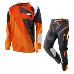 Pro motorräder online-freies Verschiffen SE Air Metric Entwurf ktm Motocross Racing Sets Off-Road-Motorrad-Gang Combos XC DH MTB Go Pro Moto Racing Suit GG
