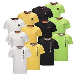 2019 T-shirt D'été Marque T-shirt pour Hommes Designer Chemises Lettre Imprimer Casual Hommes Femmes Col Rond Vente Chaude Taille M-2XL ? partir de fabricateur