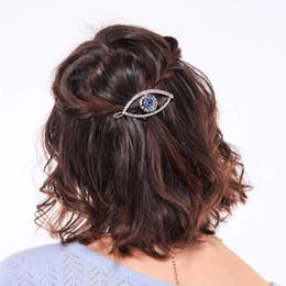 Canada Pinces à cheveux pour femmes à la mode en alliage de diamants pour les yeux du diable 1 pcs / lot Offre