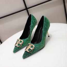 Le nuove scarpe da sera delle donne vestono le scarpe casuali delle donne del vestito da banchetto di modo del banchetto di modo delle donne alte 6.5cm35-40 di trasporto libero da