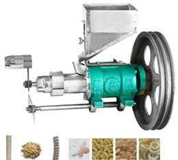 máquinas de alimentos usados Rebajas Máquinas para extrusor de alimentos / máquina de extrusoras para bocadillos de arroz y hojaldre de arroz soplado Mini MAF