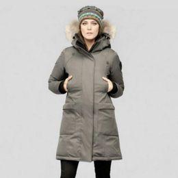 Mulheres jaqueta de inverno frio casaco feminino Ladie Long parka anorak branco Pato Para Baixo Muito Quente decote alto casaco cinza preto branco de