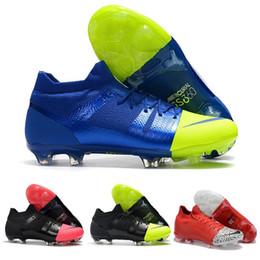 Argentina Nueva marca original Mercurial Greenspeed 360 FG zapatos de fútbol moda cr7 botas de fútbol zapatillas para hombres negro rosa verde rojo c02 supplier football boots pink Suministro