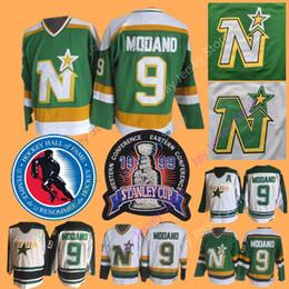 Майк Модано Джерси 1999 Кубок Стэнли 2014 Зал славы Даллас звезды Миннесота северные звезды трикотажные изделия хоккей зеленый CCM старинные от