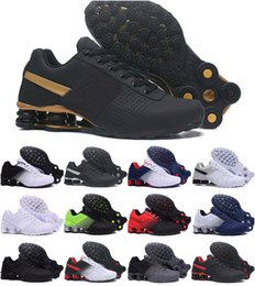 Argentina 2019 Shox Deliver 809 Men Air Running Shoes Drop Shipping Venta al por mayor Famoso Chaussures DELIVER OZ NZ para hombre Zapatillas deportivas 40-46 supplier famous running shoes Suministro