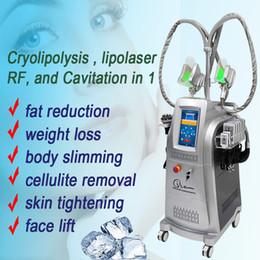 Máquina tripolar de radiofrecuencia multipolar online-Cryolipolysis freeze fat beauty machine equipo de pérdida de peso cavitación multipolar tripolar radio frecuencia radio dispositivo