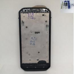 iphone 5c capa da habitação traseira Desconto Original para cat cat s60 frente caso da caixa da carcaça acessórios peças de reparo para o telefone móvel do gato s60