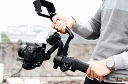 steadicam iphone Rebajas DH09 Para DJI Ronin-S Gimbal de mano para ZHIYUN Crane 2 M Plus Extensión de estabilizador para accesorios de fotografía de cámara