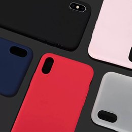 casos de sublimação lg Desconto Ultrafinos matting capa case capa mole case para iphone xs xr max xr xs x 7 8 6 7 plus 5 cores de alta qualidade