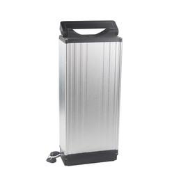 48v batteria al litio per bici elettrica Sconti Ciclo profondo con batteria agli ioni di litio in lega di alluminio per bici elettrica 48V 20AH per potenza da 400W a 1250W con caricatore 2A Spedizione gratuita
