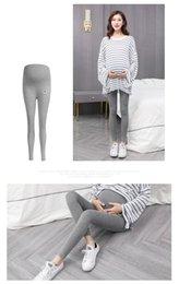 Nuevos leggings de maternidad delgadas para mujeres de verano que llevan fuera la primavera y el otoño, nueve puntos, pantalones, larga madre de verano desde fabricantes