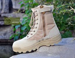 delta schuhe stiefel Rabatt Delta Tactical Boots Military Desert SWAT Amerikanische Kampfstiefel Outdoor Schuhe Atmungsaktiv Tragbare Stiefel Wandern EUR Größe 37-45