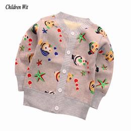 roupas de veludo de seda Desconto 2019 New Baby Sweaters Outono Inverno malha Cardigan mais grossa de veludo quente Casual roupa dos miúdos Meninos Meninas Sweater