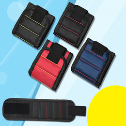 Canada Nouvelles ventes de haute qualité Super Magnétique Bracelets Aimant Tenant Ciseaux Outils Amélioration de la Accueil Dragonne Dragonne Pickup Outils de Réparation Offre