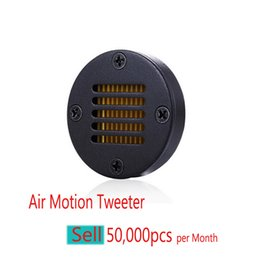 Hola calidad de audio online-Alta calidad de audio de alta Fin de coches tweeter AMT, altavoces de agudos Louder Pequeño Air Motion Transformer de audio para autos Tweeters