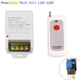 relè di controllo della tensione Sconti 100M Wireless Control larga di tensione modulo relè 110V 220V-speciale pompa 30A interruttore a distanza universale 433MHz 315MHz Remote