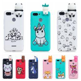 Casos mi nota online-3D Unicornio Panda Cactus Funda de silicona suave para Xiaomi Mi A1 A2 Redmi 6A S2 4X Note 5 6 7 Pro 4 4X Note 5A Prime Redmi 5 Plus