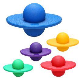 2019 pelotas de goma para gimnasia Gimnasia Saltar pelota Ejercicio de yoga Equilibrio Salto inflable Bola Rock Hopper Entrenamiento Deporte Equilibrio Músculo Trampolín