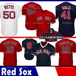 Boston Jersey Red Coolbase Sox Jackie Bradley Jr. Jersey 50 Mookie Betts 15 Dustin Pedroia 16 Andrew Benintendi desde fabricantes
