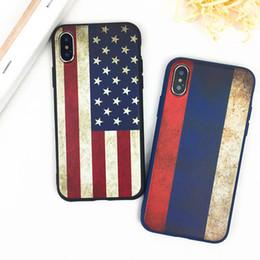Due copertine posteriori del telefono online-Bandiera di alta qualità Coppia modello Cover posteriore resistente agli urti Custodia protettiva in TPU Custodia protettiva per iPhone X XR XS MAX 6 6S 7 8 PLUS